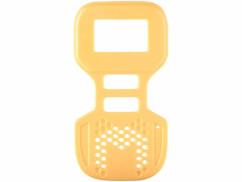 facade avant jaune pour talkie walkie professionnel simvalley wt-505