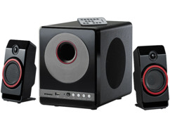 Haut-parleurs premium 2.1 avec lecteur MP3 MSX-380.M