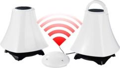 Haut-parleurs stéréo actifs sans fil ''LSX-244.XL''
