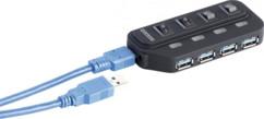 Hub Actif 4 Ports Autonomes USB 3.0
