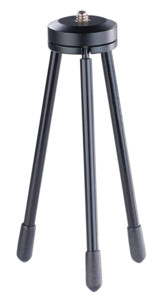 """Mini trépied 1/4"""" à hauteur réglable (8 à 13 cm)"""