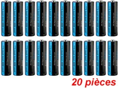 Piles Super Alcalines type AA - Lot de 20