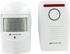systeme d'alarme infrarouge à détecteur de mouvement pour extérieur visortech