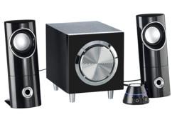 Système audio actif 2.1 multimédia MSX-220