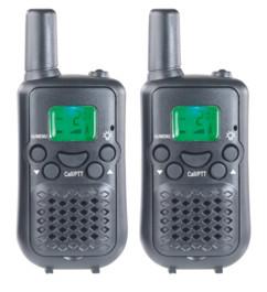 talkie walkie wt-305 moyenne portée 5 km pour sécurité et chantier Simvalley