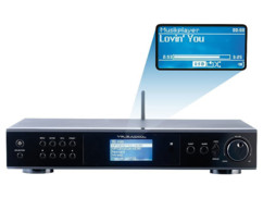 Tuner radio Internet DAB+ / FM ''IRS-820.HiFi''
