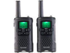 Deux talkies-walkies WT-330 Simvalley Communication.