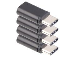4 adaptateurs Micro USB vers USB type C