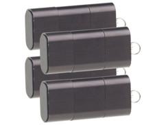 4 lecteurs de carte Micro SD pour ports USB A et C
