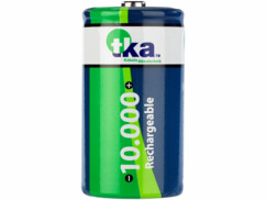 Pile rechargeable accu nimh type D 1000 mah par TKA