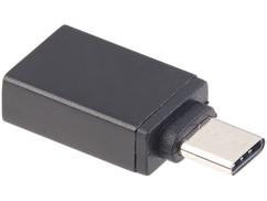 Adaptateur USB 3.0 femelle vers USB type C mâle