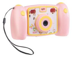 appareil photo camera full hd pour enfants coloris rose ou bleu fille garcon avec bouton pour selfies somikon