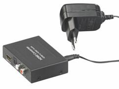 convertisseur audio HDMi vers Toslink optique auvisio