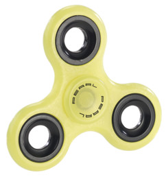 Hand spinner 3 branches - Phosphorescent (jaune)