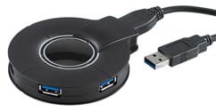 Hub actif 4 ports USB 3.0 ''SSU-5004'