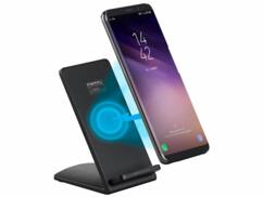 Station de chargement à induction pour smartphones compatibles Qi - 5 V - 1 A
