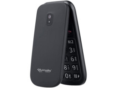 Téléphone mobile à clapet avec appel d'urgence, Bluetooth et Dual SIM : XL-949