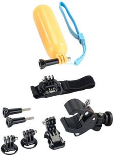 10 accessoires pour caméras sport Somikon et GoPro