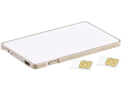 adaptateur double SIM bluetooth pour iphone ipad callstel