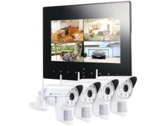 Système de surveillance numérique Visortech DSC-720 - 4 caméras