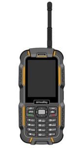 Téléphone outdoor Dual SIM ''XT-980'' avec fonction Talkie Walkie
