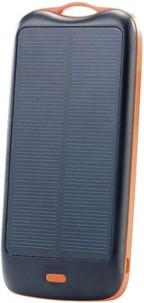Batterie de secours solaire 10000 mAh avec 2 ports USB