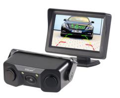 caméra de recul additive sans fil avec ecran lcd 4 pouces pour toutes voitures Lescars