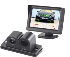 Caméra d'aide au recul à angle de champ 90° - Avec écran LCD