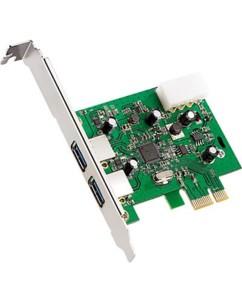 Carte contrôleur PCIE 2 ports USB3.0