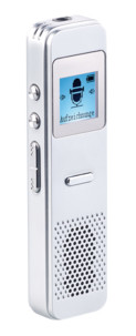 mini dictaphone numerique 6go avec minuteur et fonction vox automatique Auvisio rec250