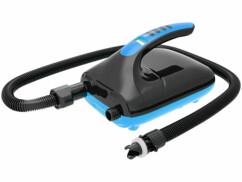 Pompe à air électrique pour bateau et planche de stand-up paddle.