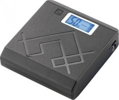 Batterie de secours USB 6600 mAh avec écran LCD et lampe à LED