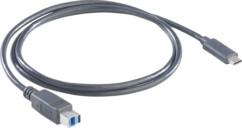 Câble USB 3.0 Type B - USB C 100 cm