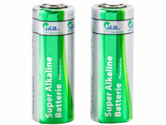 Lot de 2 piles alcalines A23 12V - TKA