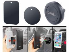 Support magnétique pour smartphone - sur grille de ventilation