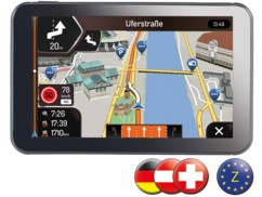 Système GPS Premium 5'' StreetMate N5 - cartes Europe Centrale