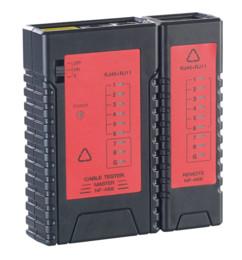 Testeur de câbles 2 en 1 pour RJ-45 et RJ-11