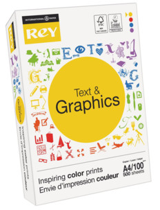 Papier A4 Rey ''Text & Graphics'' - 100 g/m²