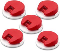 5 supports autoadhésifs à fiches mémo A4