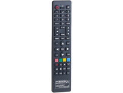 télécommande tv universelle reprogrammable compatible sony samsung philips lg continental edison