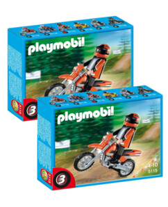 2 motocross Playmobil 5115