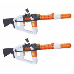 Lot de deux Nerf Star Wars Stormtrooper Deluxe Blaster.