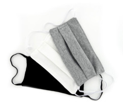 Pack de 3 masques en coton