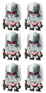 6 figurines Transformers Mighty Muggs - Megatron