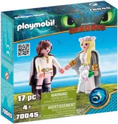 Le pack Astrid et Harold Playmobil Dragons n°70045.