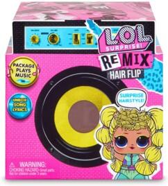 Boîte mystère L.O.L Surprise! Remix Hair Flip.