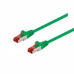 Câble réseau RJ45 Cat. 6 S/FTP - 3 m - Vert