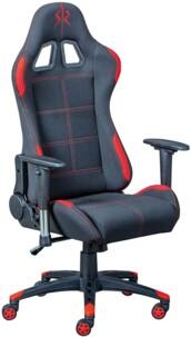 Chaise de bureau Gaming RED Inter Link.
