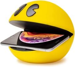 Chargeur à induction Pac-Man pour smartphones.