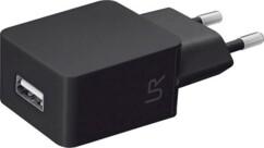 Chargeur USB secteur 5 W noir Trust.